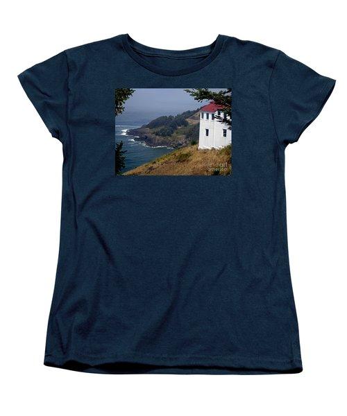 Women's T-Shirt (Standard Cut) featuring the photograph Raw Powerful Beauty by Fiona Kennard