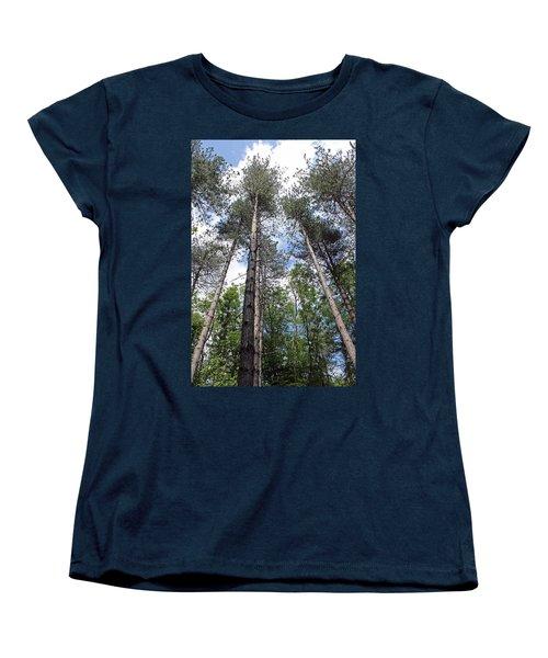 Reach For The Sky Women's T-Shirt (Standard Cut) by Tony Murtagh
