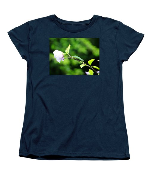 Women's T-Shirt (Standard Cut) featuring the photograph Reaching For Nectar by Ecinja