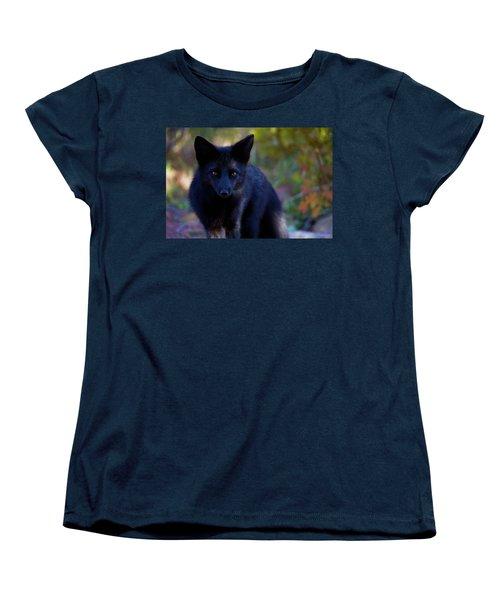 Women's T-Shirt (Standard Cut) featuring the photograph Reading The Menu by Jim Garrison