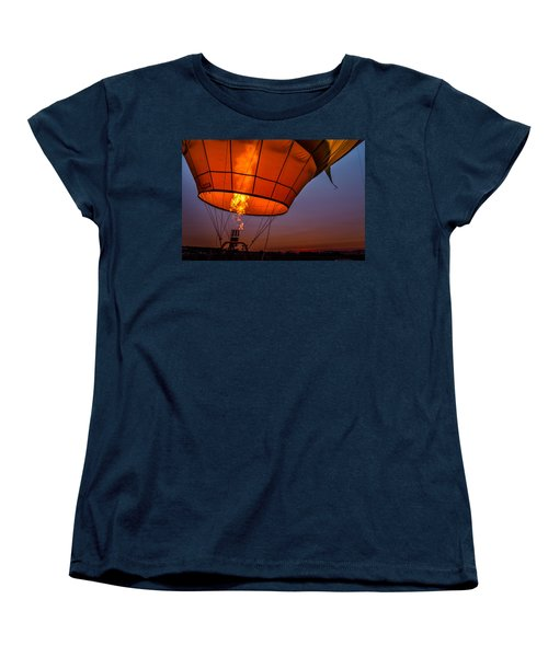 Ready For Takeoff Women's T-Shirt (Standard Cut) by Linda Villers