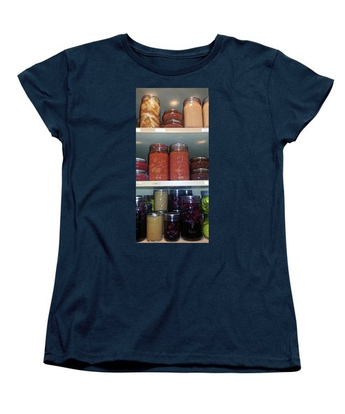 Women's T-Shirt (Standard Cut) featuring the photograph Ready For Winter by Caryl J Bohn