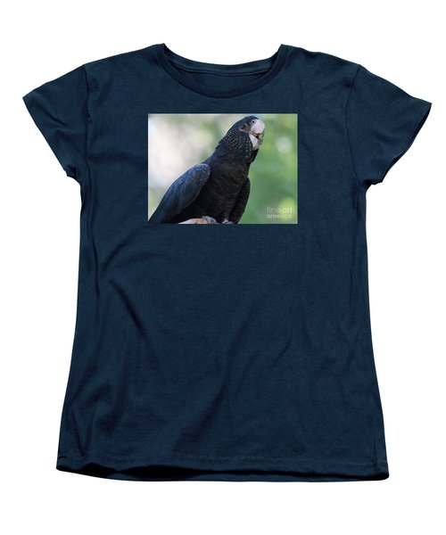 Red-tailed Black Cockatoo Women's T-Shirt (Standard Cut) by Bianca Nadeau