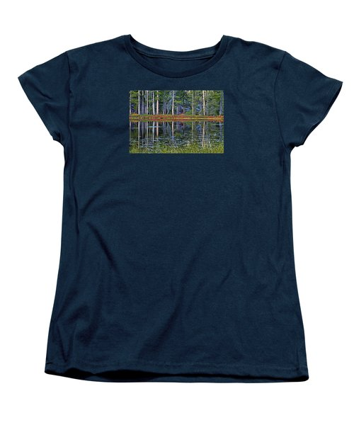 Reflecting Nature Women's T-Shirt (Standard Cut) by Duncan Selby
