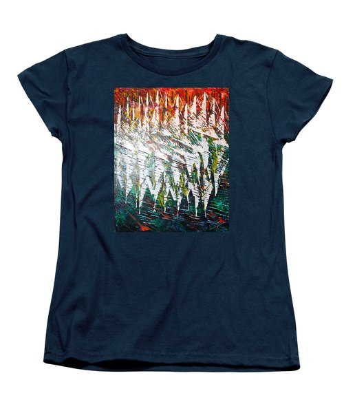 Reflecting Sails Women's T-Shirt (Standard Cut) by George Riney