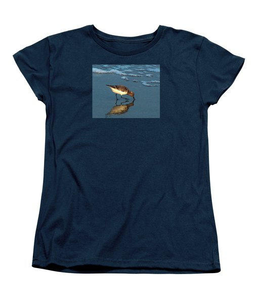 Reflection At Sunset Women's T-Shirt (Standard Cut) by Sandi OReilly