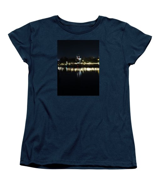 Reflection Of Lights Women's T-Shirt (Standard Cut) by Kathy Long