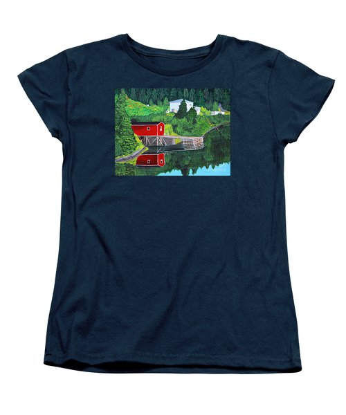 Reflections Women's T-Shirt (Standard Cut) by Barbara Griffin