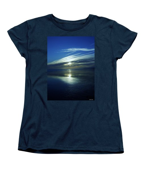 Women's T-Shirt (Standard Cut) featuring the photograph Reflections by Barbara St Jean