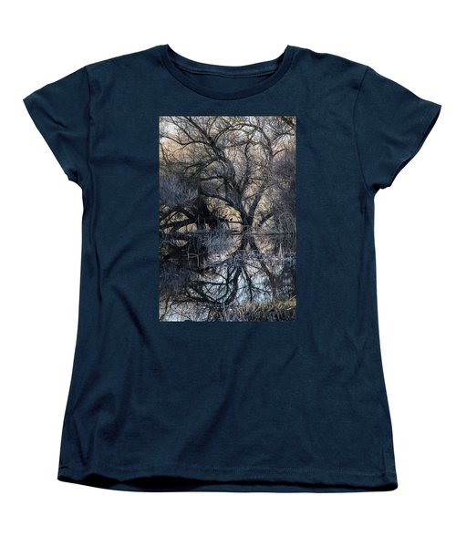 Women's T-Shirt (Standard Cut) featuring the photograph Reflections by Brian Williamson