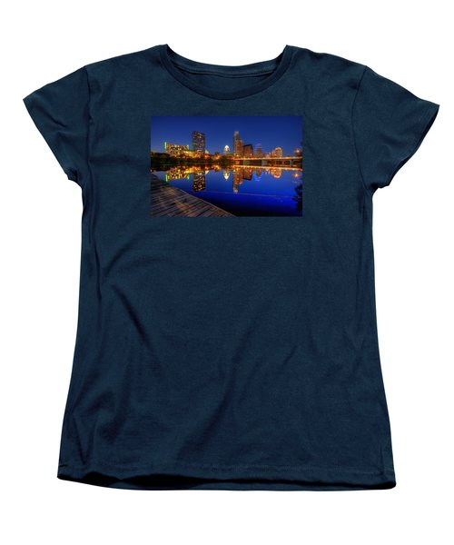 Reflections Women's T-Shirt (Standard Cut) by Dave Files