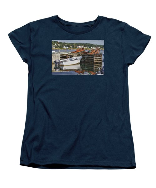 Reflections Women's T-Shirt (Standard Cut) by Eunice Gibb
