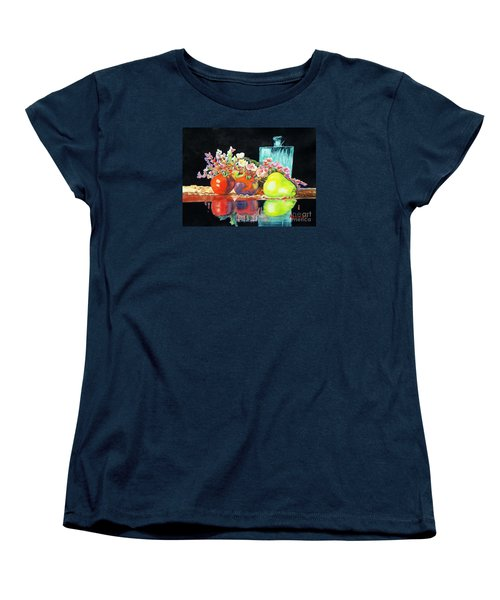 Reflections In Color Women's T-Shirt (Standard Cut) by Kathy Braud