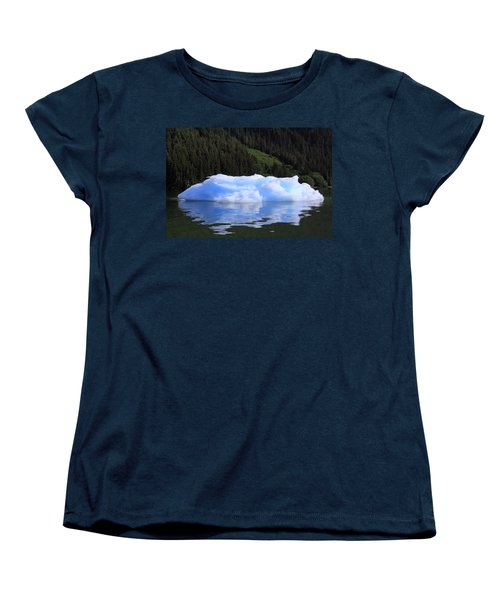 Reflections In The Sea Women's T-Shirt (Standard Cut) by Shoal Hollingsworth