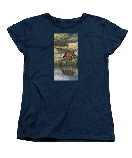 Reflections Women's T-Shirt (Standard Cut) by Kim Lockman