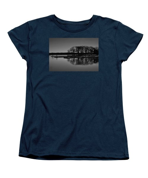 Reflections Of Water Women's T-Shirt (Standard Cut) by Miguel Winterpacht
