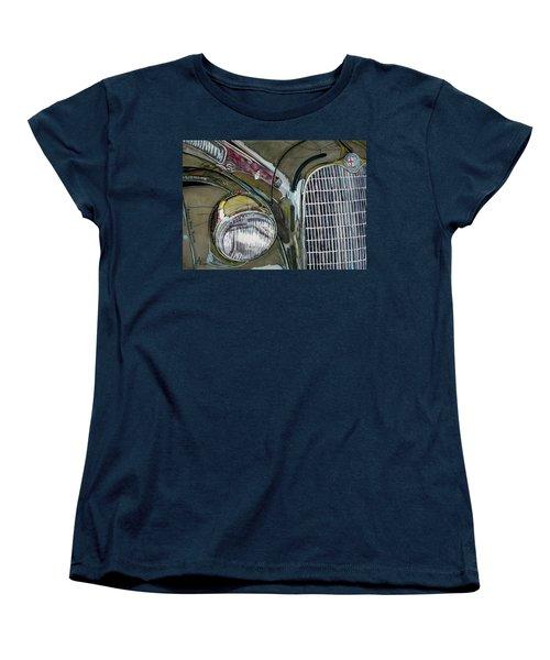 Reflections On 1931 Alfa Romeo Milano Women's T-Shirt (Standard Cut) by Anna Ruzsan