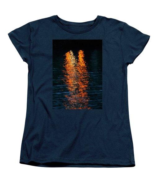 Reflections Women's T-Shirt (Standard Cut) by Pamela Walton