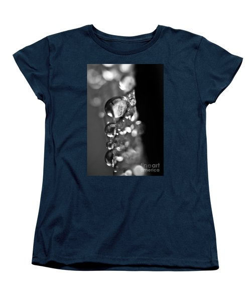 Reflective Rain Women's T-Shirt (Standard Cut) by Cheryl Baxter