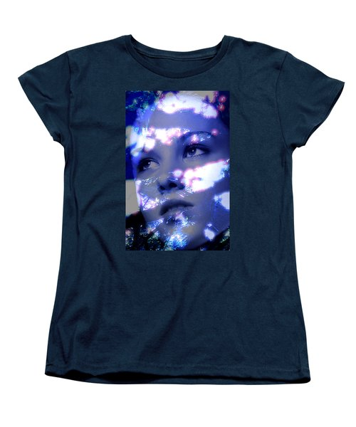Reflective Women's T-Shirt (Standard Cut) by Richard Thomas