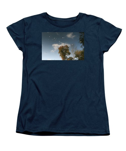 Women's T-Shirt (Standard Cut) featuring the photograph Reflective Thoughts  by Neal Eslinger