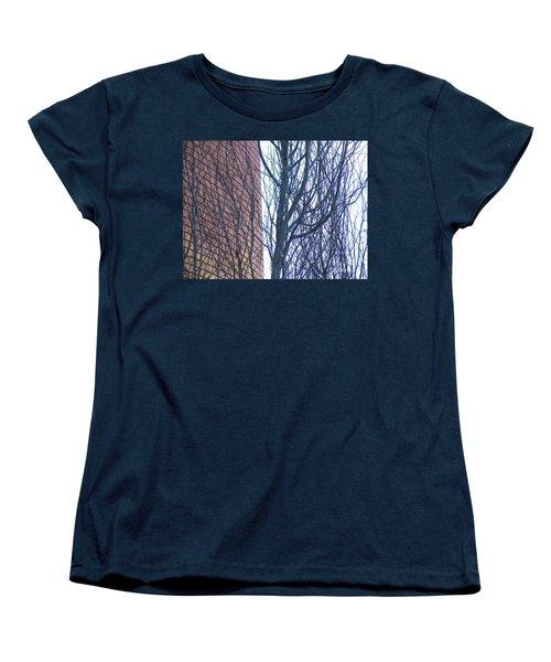 Regular Irregularity  Women's T-Shirt (Standard Cut) by Brian Boyle