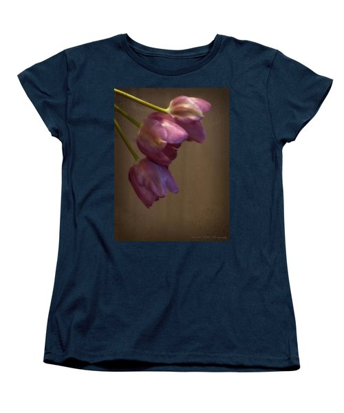 Women's T-Shirt (Standard Cut) featuring the photograph Remaining Glory by Lucinda Walter