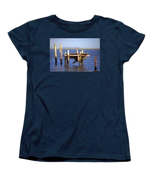 Women's T-Shirt (Standard Cut) featuring the photograph Remnants by Gordon Elwell