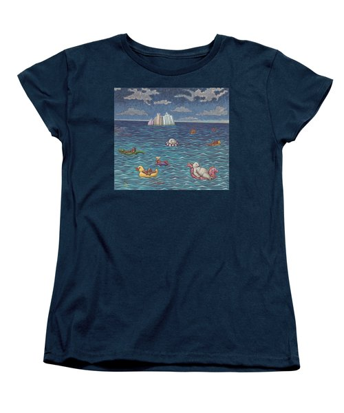 Resort Women's T-Shirt (Standard Cut) by Holly Wood