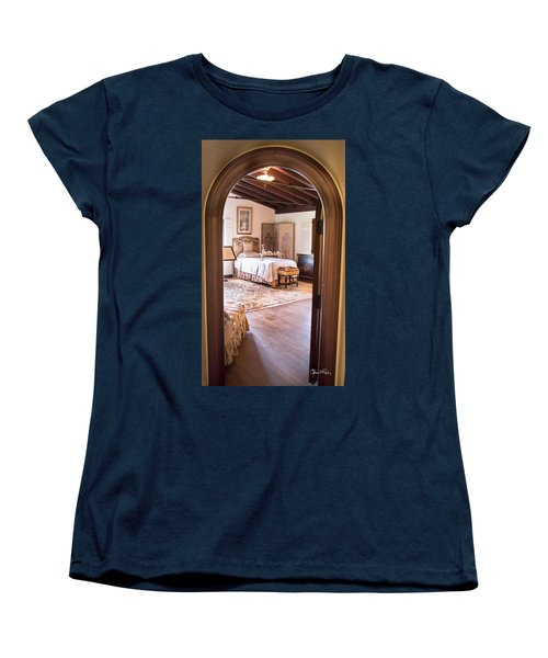 Retreat To The Past Women's T-Shirt (Standard Cut) by Susan Molnar