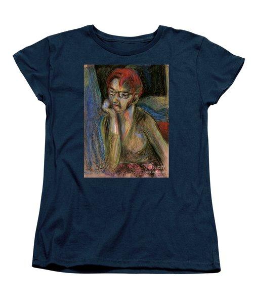 Retrospection - Woman Women's T-Shirt (Standard Cut) by Samantha Geernaert