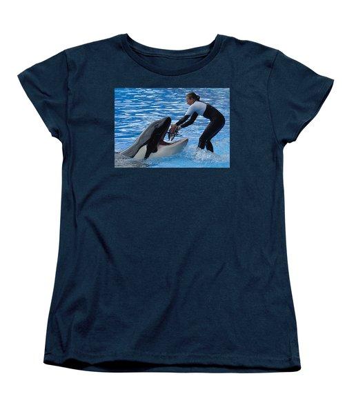 Women's T-Shirt (Standard Cut) featuring the photograph Reward by David Nicholls