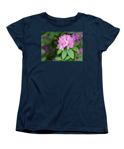Women's T-Shirt (Standard Cut) featuring the photograph Rhododendron by Kristin Elmquist