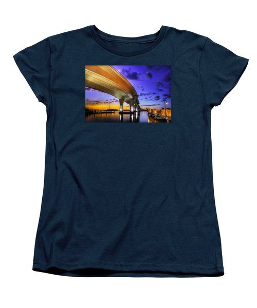 Ribbon In The Sky Women's T-Shirt (Standard Cut) by Marvin Spates