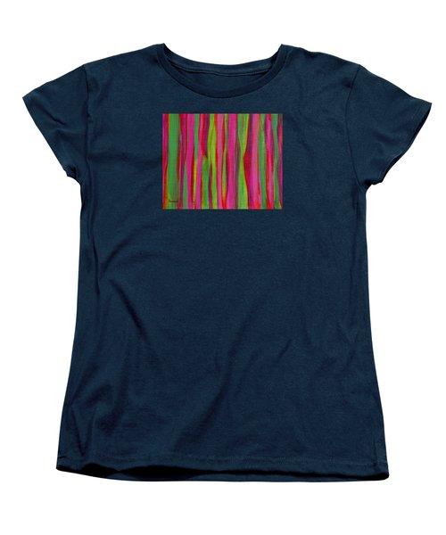 Ribbons Women's T-Shirt (Standard Cut) by Donna  Manaraze