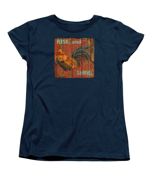 Rise And Shine Women's T-Shirt (Standard Cut) by Jean PLout