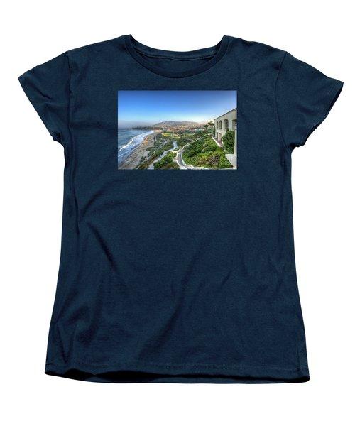 Ritz-carlton Laguna Niguel Ocean View Women's T-Shirt (Standard Cut) by David Zanzinger