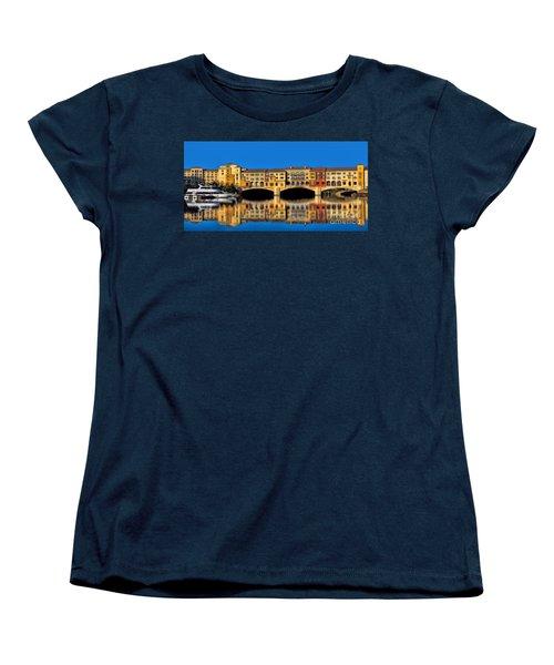 Ritzy Women's T-Shirt (Standard Cut) by Tammy Espino