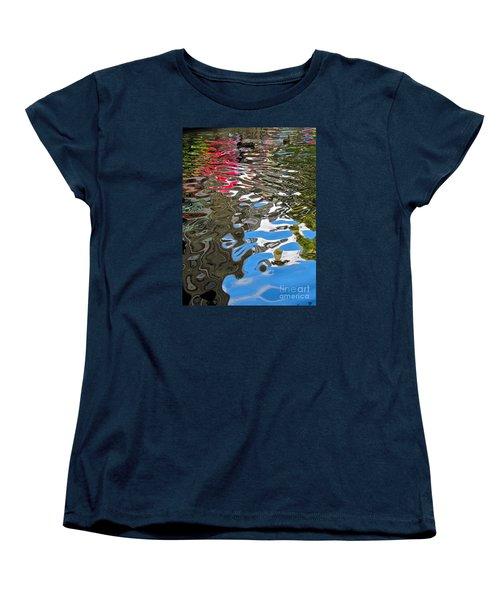 River Ducks Women's T-Shirt (Standard Cut) by Pamela Clements