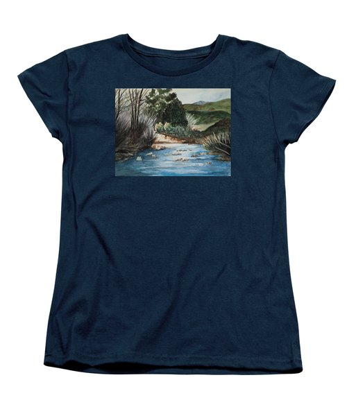 Riverscape Women's T-Shirt (Standard Cut) by Lee Beuther