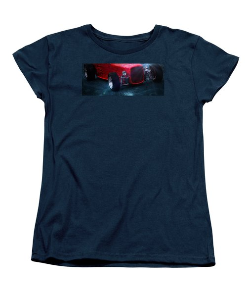 Vintage Car Women's T-Shirt (Standard Cut) featuring the photograph Road Rod  by Aaron Berg