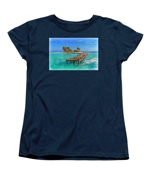 Robinson Island Women's T-Shirt (Standard Cut) by Hanny Heim