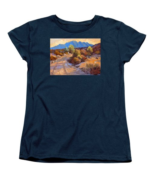 Rock Cairn At La Quinta Cove Women's T-Shirt (Standard Cut) by Diane McClary