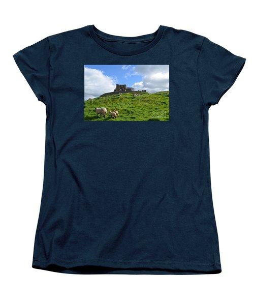 Rock Of Cashel In The Distance Women's T-Shirt (Standard Cut) by DejaVu Designs