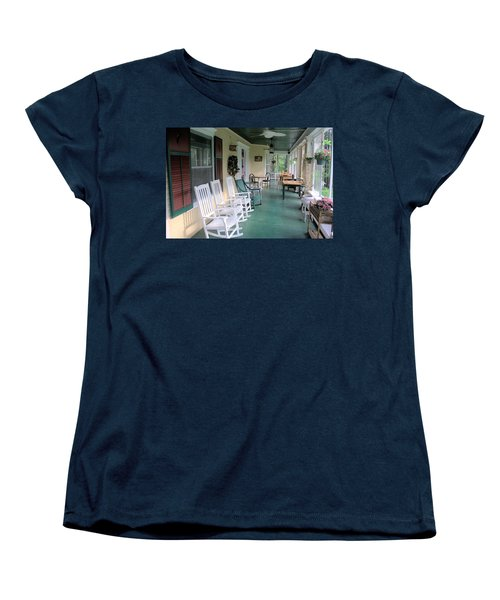 Rockers On The Porch Women's T-Shirt (Standard Cut)