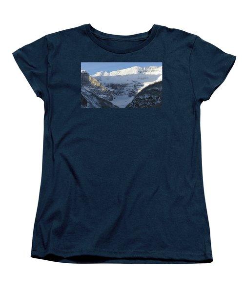 Rocky Mountain Blue Women's T-Shirt (Standard Cut) by Cheryl Miller