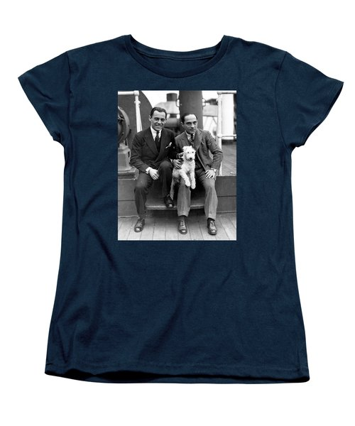 Women's T-Shirt (Standard Cut) featuring the photograph Rodgers And Hart by Granger