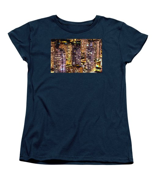 Women's T-Shirt (Standard Cut) featuring the photograph Romance In Yaletown Mcdxxxi by Amyn Nasser