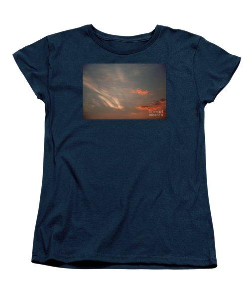 Romantic Sky Women's T-Shirt (Standard Cut) by Kiran Joshi
