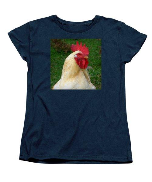 Rooster Cogburn Women's T-Shirt (Standard Cut) by Joseph Skompski